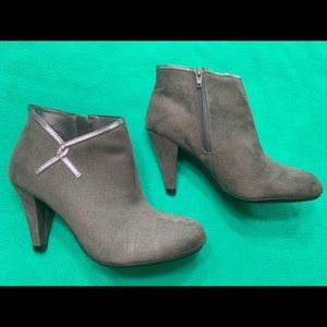 Women's Suede Ankle Booties